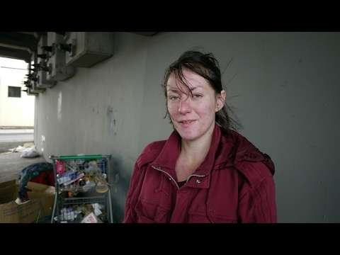 Sabrina is 23 and living homeless under a bridge in Seattle. - YouTube