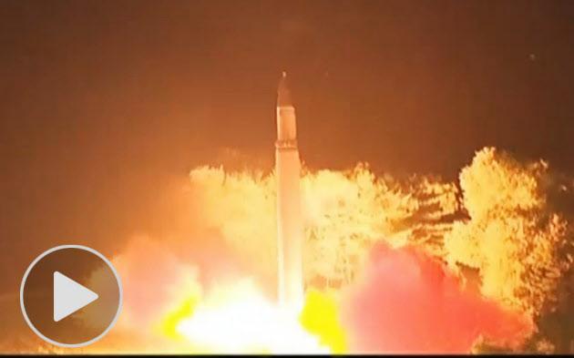 日米韓、対抗措置を検討 北朝鮮ICBM発射2回目  :日本経済新聞
