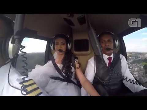 【墜落の瞬間】結婚式場にヘリコプターでダイナミック入場した新郎新婦、全身を強く打ち死亡 ブラジル - YouTube