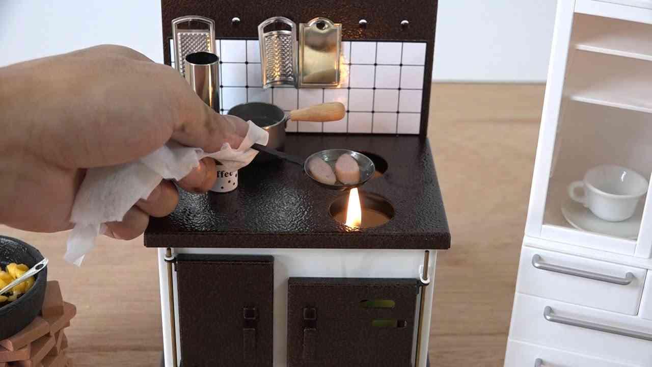 本当に食べれる! ミニチュアクッキング Miniature Real Food    konapun 料理 - YouTube