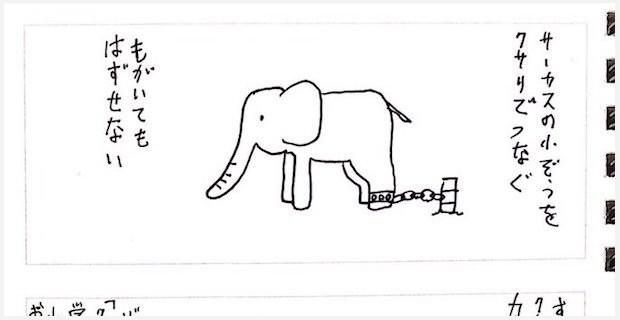「サーカスの象が鎖を壊して逃げないのはなぜか?」という例え話が深い | BUZZmag