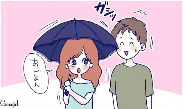 彼氏、旦那と出かける際に、日傘さしますか?