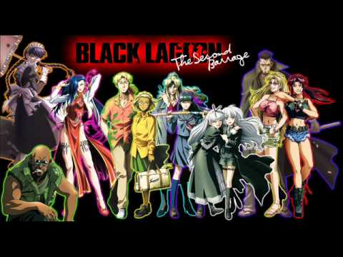 [ブラックラグーン] Black Lagoon  OP Red fraction full - YouTube