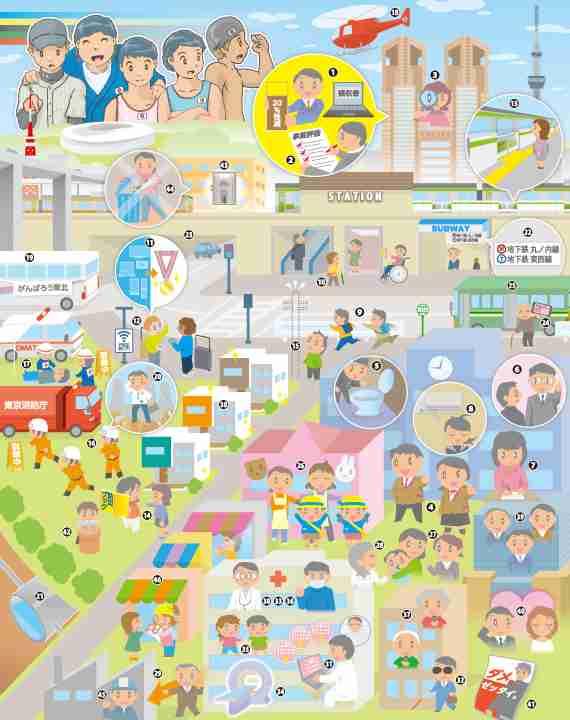 街じゅういっぱい 都議会公明党の実績2017 | ニュース | 公明党
