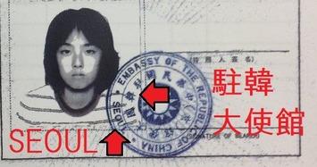 痛いニュース(ノ∀`) : 蓮舫氏に「四重国籍」疑惑? パスポートに「ソウル・駐韓大使館」と書かれていると話題に - ライブドアブログ