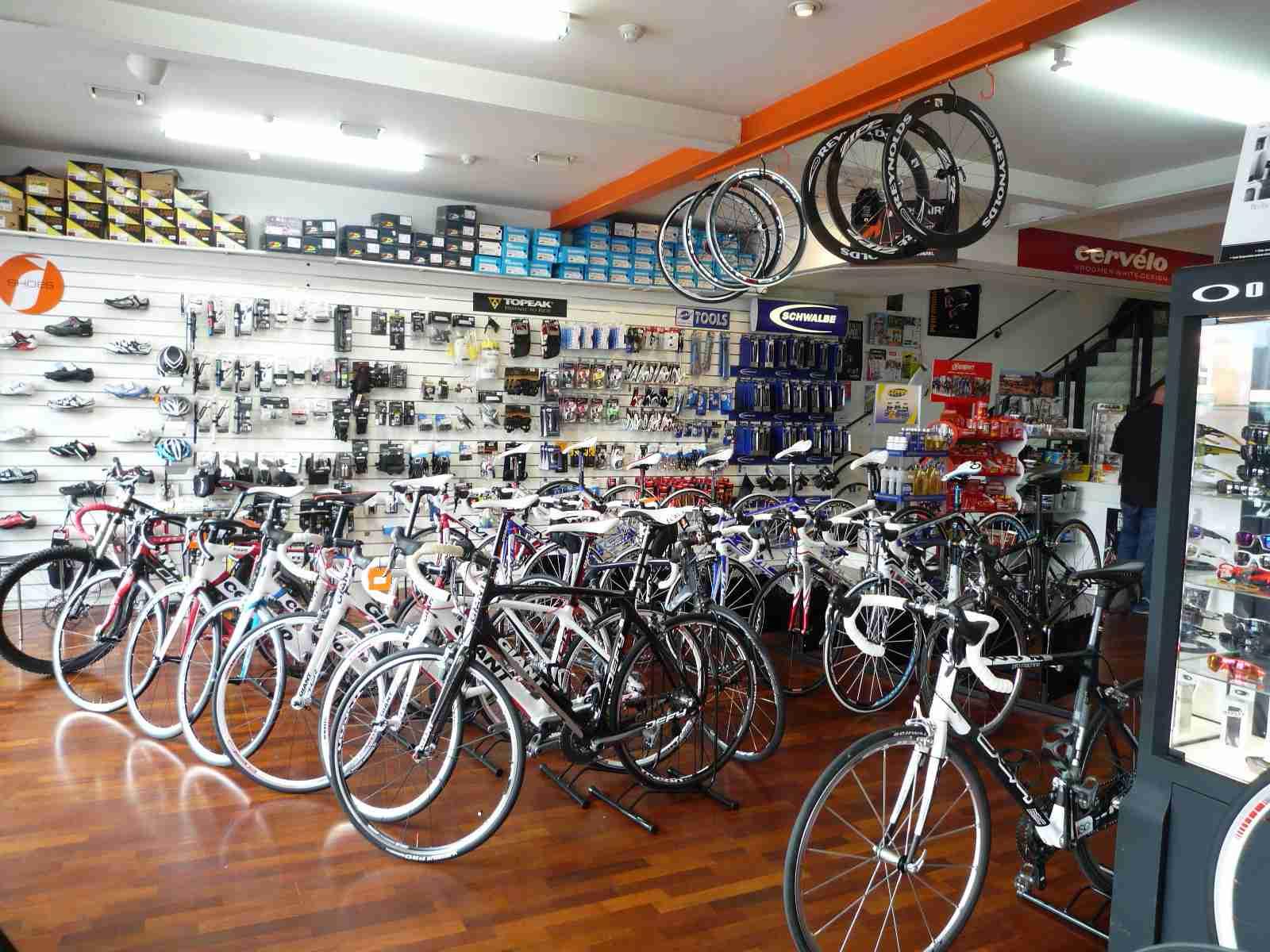 自転車、どこで買います?