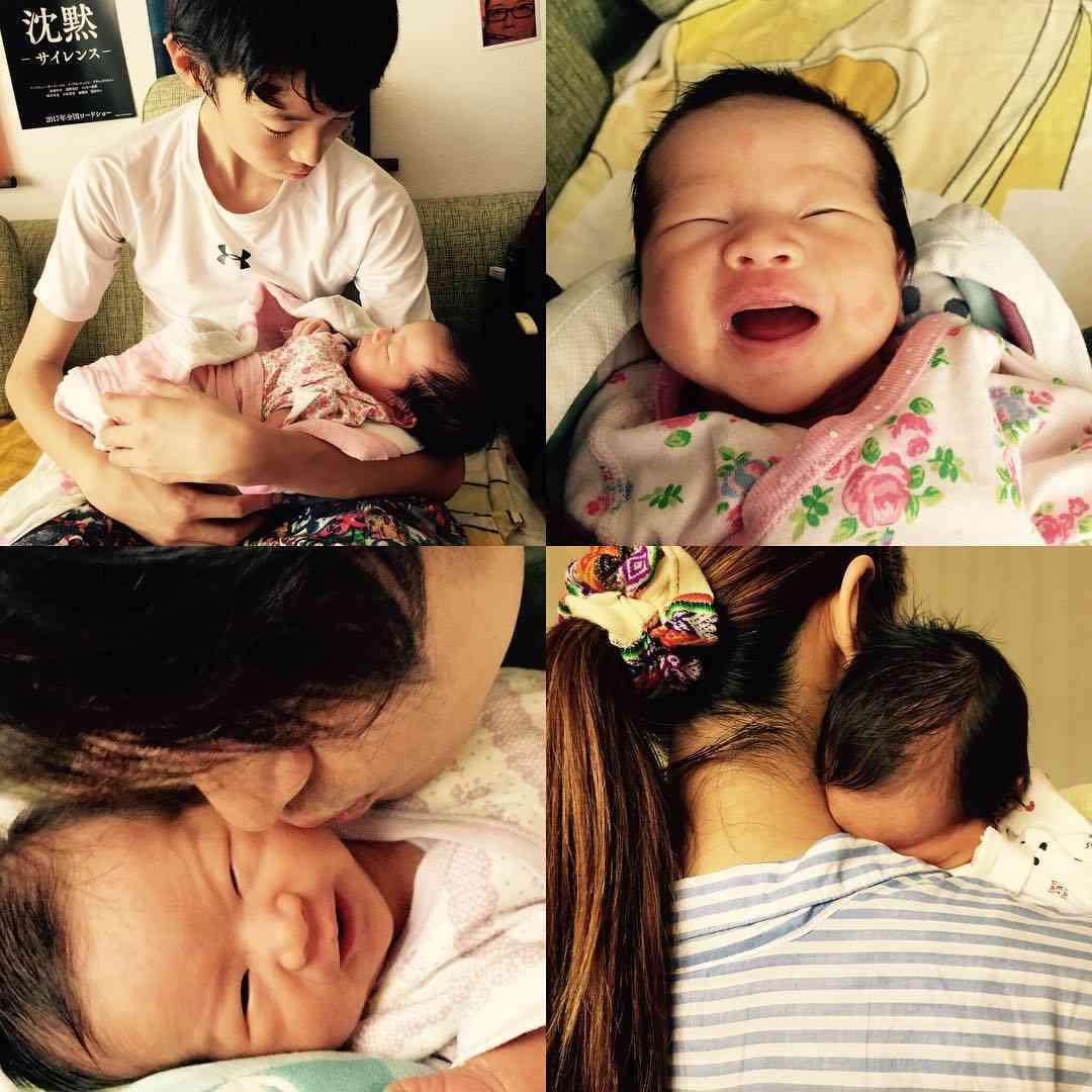 窪塚洋介、生後2週間の愛娘「あまと」ちゃんを公開「生きることの素晴らしさに気づく」