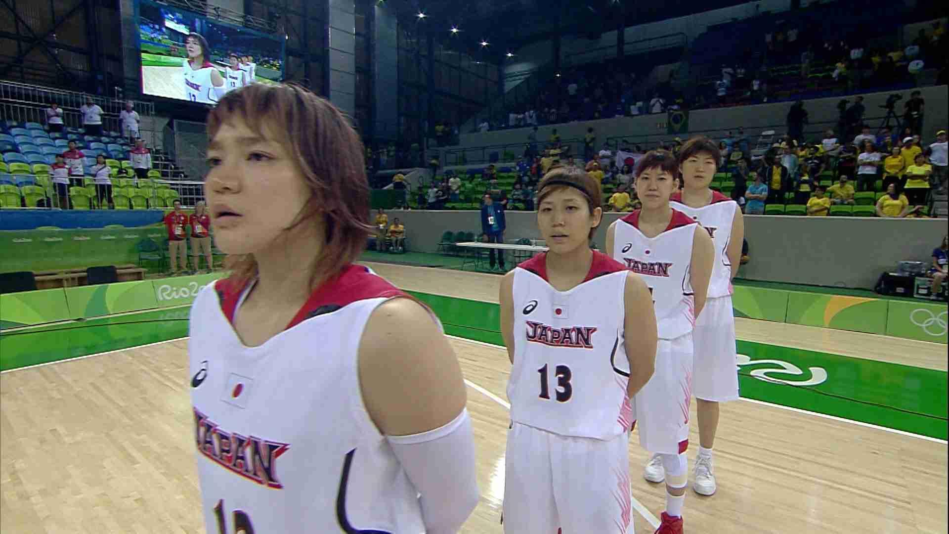 【NHKリオ】3ポイント8本成功 世界4位・フランスに勝利 バスケットボール女子 - YouTube