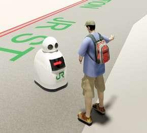 JR東日本、駅で働くロボットの開発導入を加速 案内に警備、清掃など幅広く活用