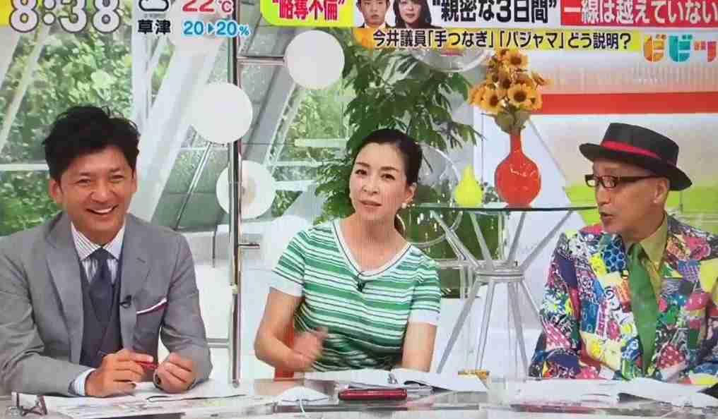 国分太一も感心 今井絵理子「一線は越えていない」に加藤シゲアキがするどい指摘