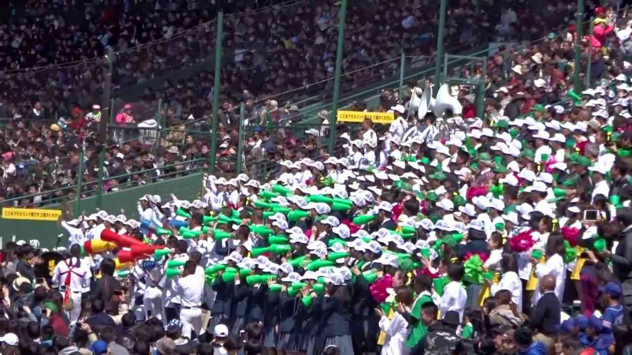 第88回選抜高校野球、話題沸騰の東邦高校応援団千葉ロッテ応援 - YouTube