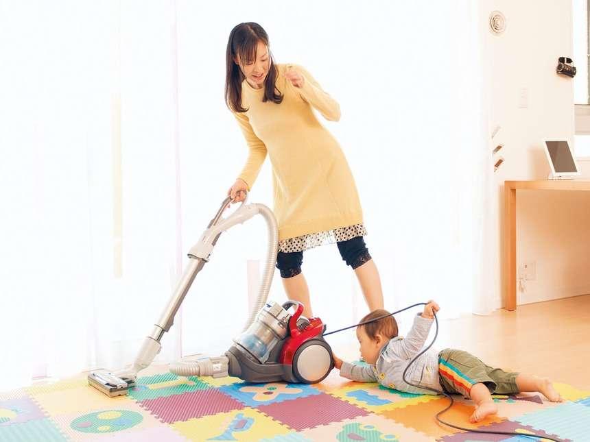 育児中の家事