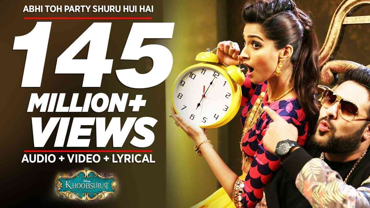 'Abhi Toh Party Shuru Hui Hai' FULL VIDEO Song | Khoobsurat | Badshah | Aastha - YouTube