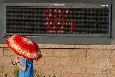 気温50度!米アリゾナ州 写真1枚 国際ニュース:AFPBB News