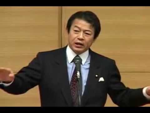 「人権法で私は(朝鮮人組織に)消される。」  中川大臣の遺言 (死亡) - YouTube