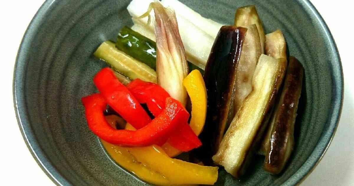 漬けるだけ簡単❗夏野菜のピクルス by Emiry_h [クックパッド] 簡単おいしいみんなのレシピが271万品