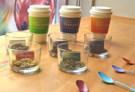 スタバ紅茶専門ブランド「TEAVANA」日本初上陸