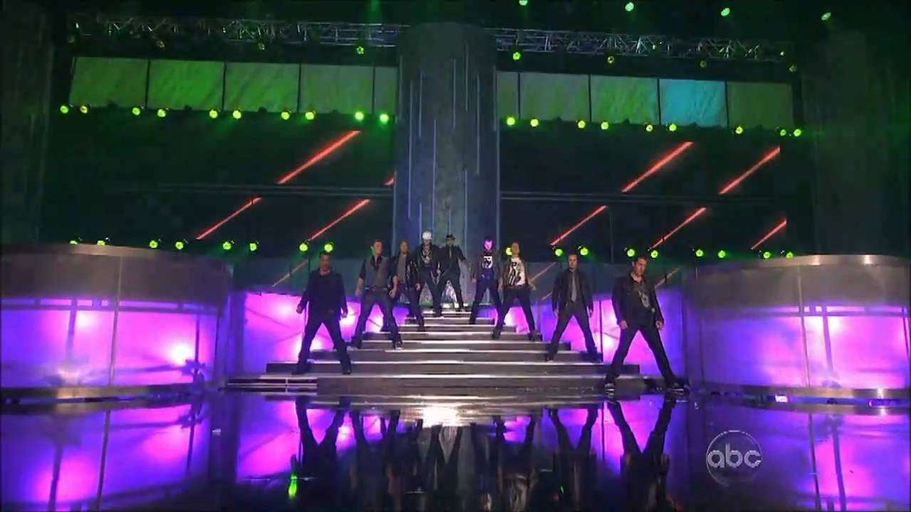 NKOTBSB on the AMAs - YouTube