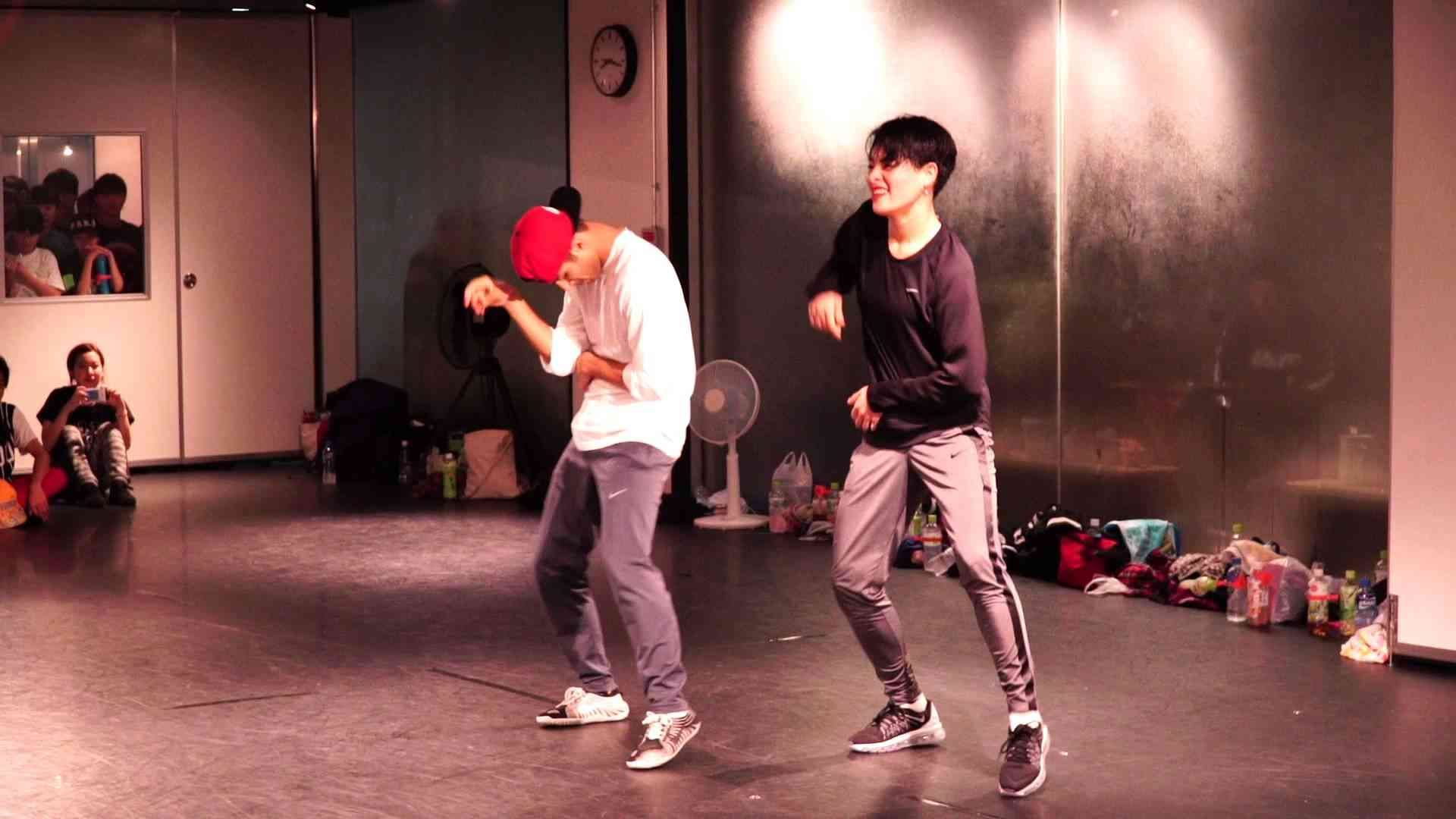 KOHARU SUGAWARA w/ Suleman Malik Dance Workshop - YouTube