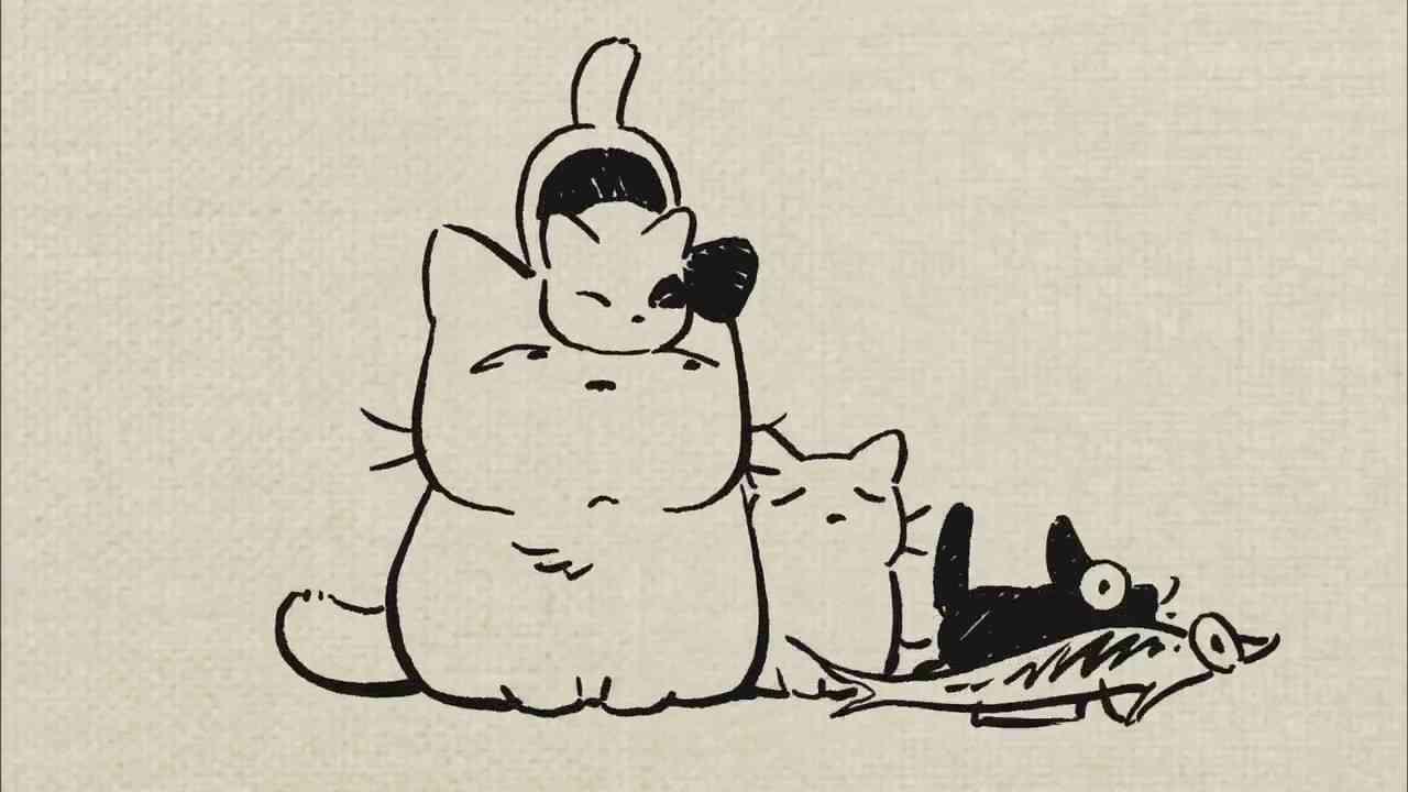 日清製粉 面白いCM かわいい猫 コニャラ - YouTube