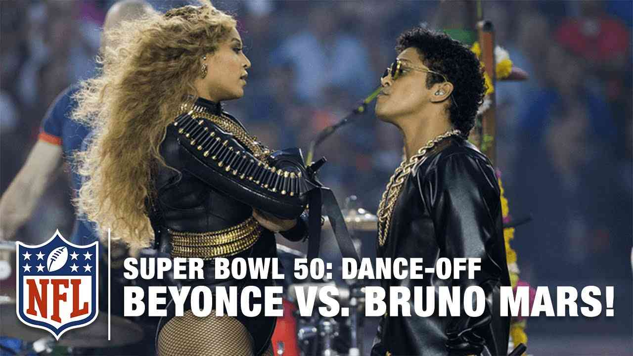 Beyoncé & Bruno Mars Crash the Pepsi Super Bowl 50 Halftime Show | NFL - YouTube