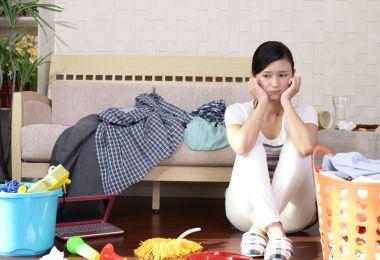 毎日奮闘!ママたちの「子育てでストレス増になる家事」TOP5&対処法