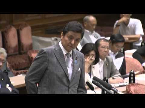 2012.08.24 参議院予算委員会 - YouTube