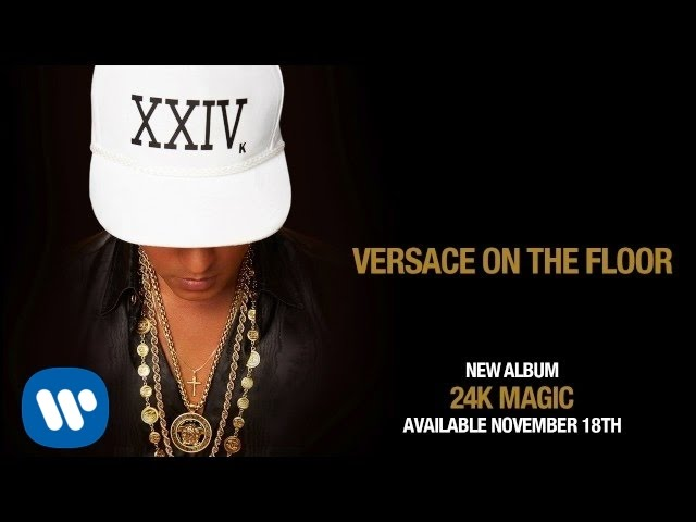 Bruno Mars - Versace on The Floor [Official Audio] - YouTube