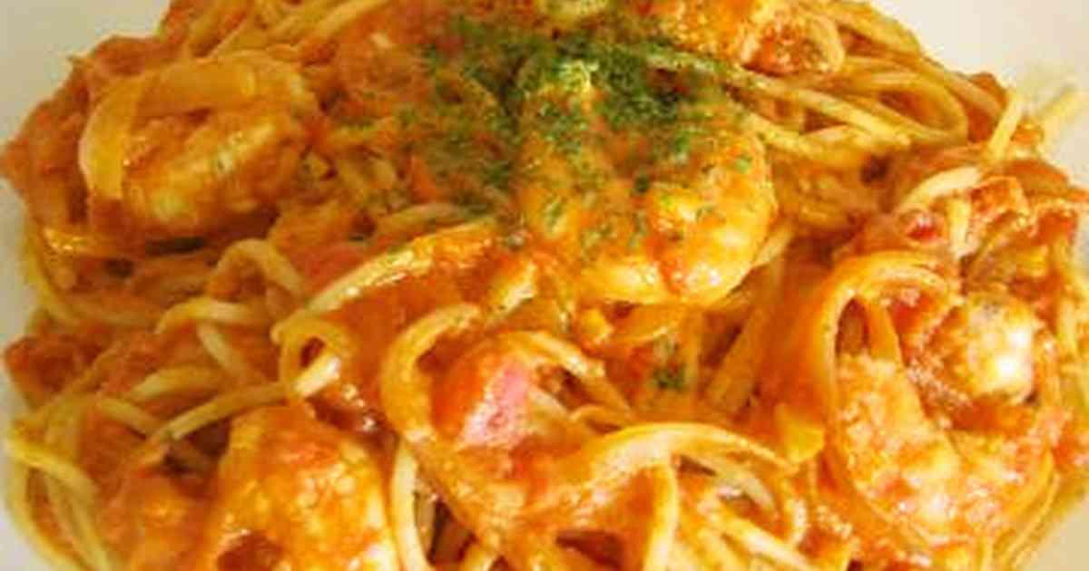 *海老のトマトクリームパスタソース* by Ery [クックパッド] 簡単おいしいみんなのレシピが271万品