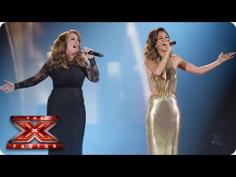 Sam Bailey sings And I'm Telling You with Nicole Scherzinger - Live Week 10 - The X Factor 2013 - YouTube