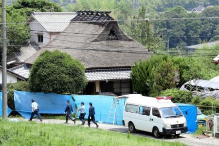 祖父母ら4人刺され死亡 包丁所持の26歳容疑者逮捕 兵庫県警