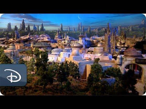 Star Wars-Inspired Land Model | Disney Parks - YouTube