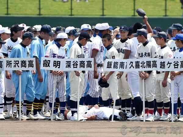 球児1人搬送…熱中症で15人体調不良 高校野球の開会式、県内猛暑