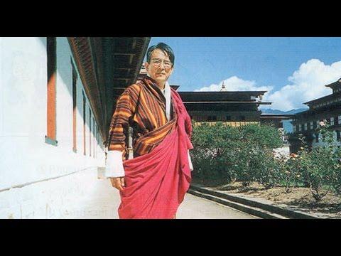 ブータンで神とあがめられる日本人、西岡京治。 - YouTube
