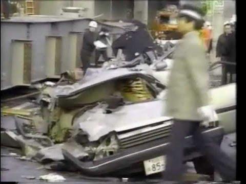 白昼の惨事 1991年 広島橋げた落下事故 - YouTube