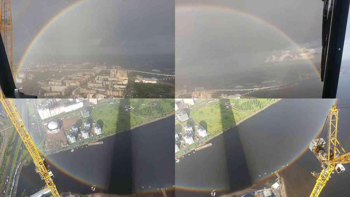世にも珍しい「全円の虹」がロシアで撮影される - GIGAZINE