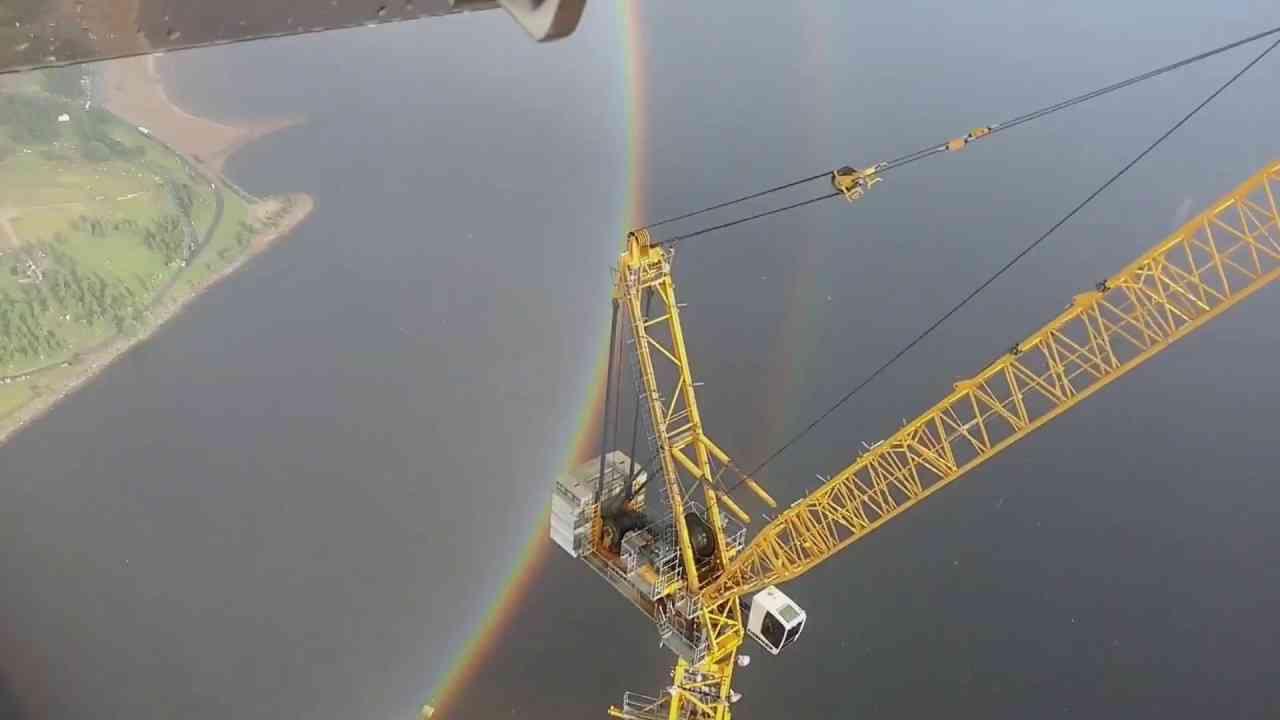 Увидеть круглую радугу с небоскреба / Full circle Rainbow - YouTube