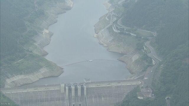 荒川水系の取水制限20%へ 全国7水系で取水制限 | NHKニュース