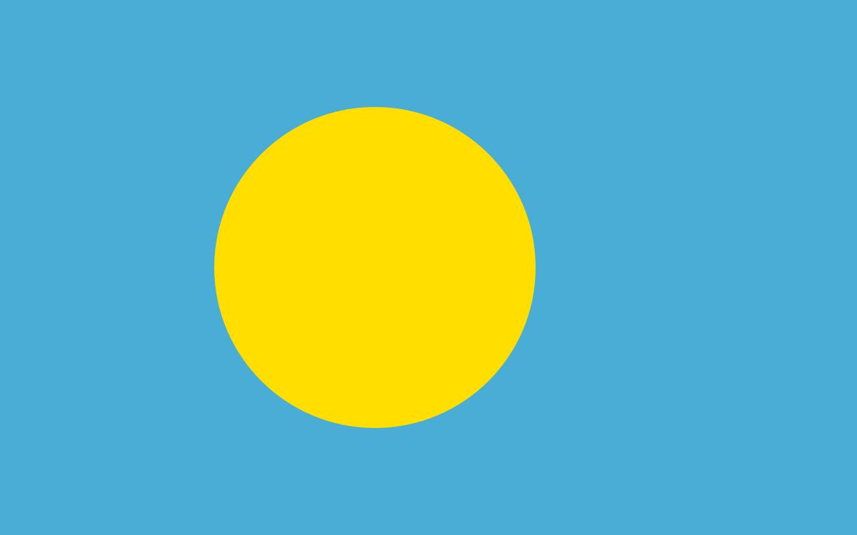 パラオの国旗 - Wikipedia