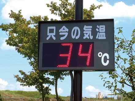 今何度℃ですか?