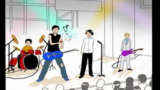 【ギャグマンガ日和】ロック伝説【完成版】 - Dailymotion動画