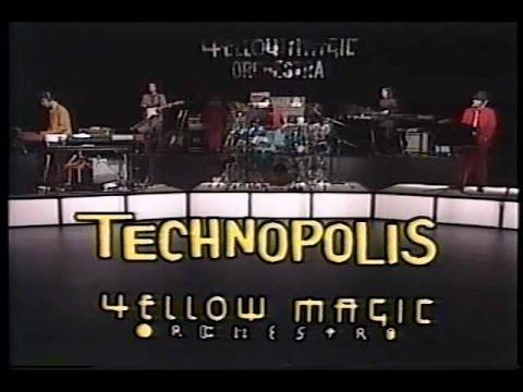 夜のヒットスタジオ 1980年6月2日 YMO TECHNOPOLIS~RYDEEN (雷電) - YouTube