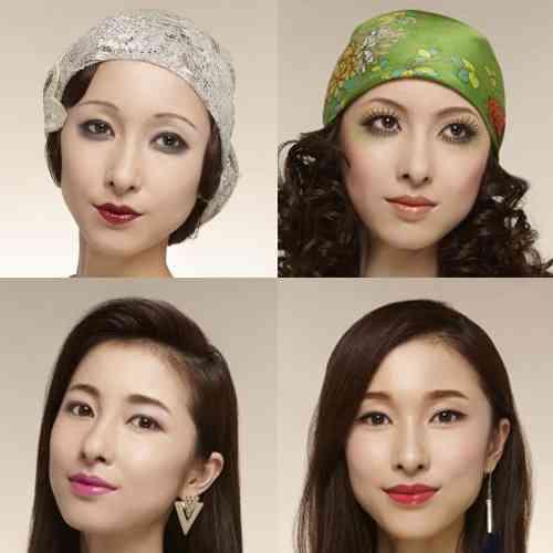 日本女性の化粧の変遷100年   INFORMATION   資生堂 HAIR&MAKE UP ARTIST    資生堂グループ企業情報サイト