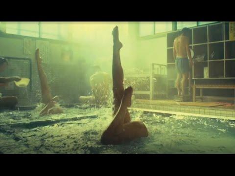 【おんせん県】「シンフロ」篇 フルバージョン SHINFURO:Synchronized Swimming in Hot Springs - YouTube