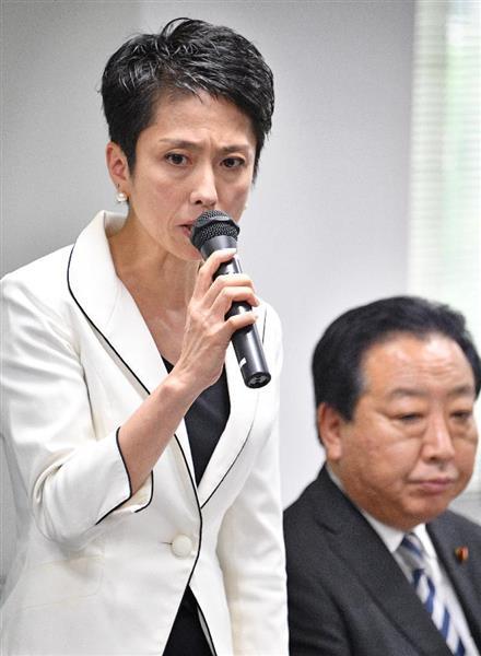 民進党の蓮舫代表、野田佳彦幹事長ら交代の方針 25日に人事の大幅刷新を表明へ - 産経ニュース