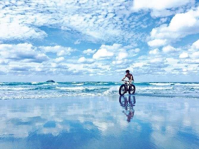 まるでウユニ塩湖→実は「鳥取」です 砂丘の知られざる撮影スポット : J-CASTニュース