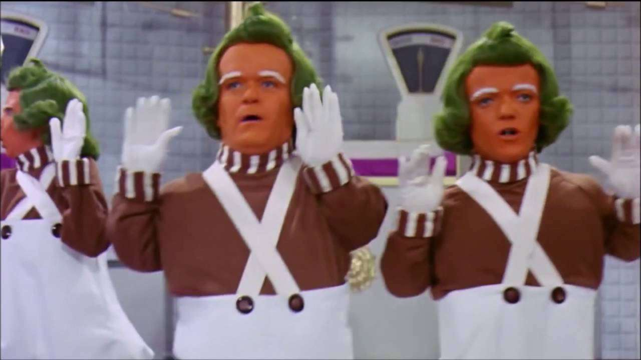 Willy Wonka 1971 all Oompa Loompa Songs - YouTube