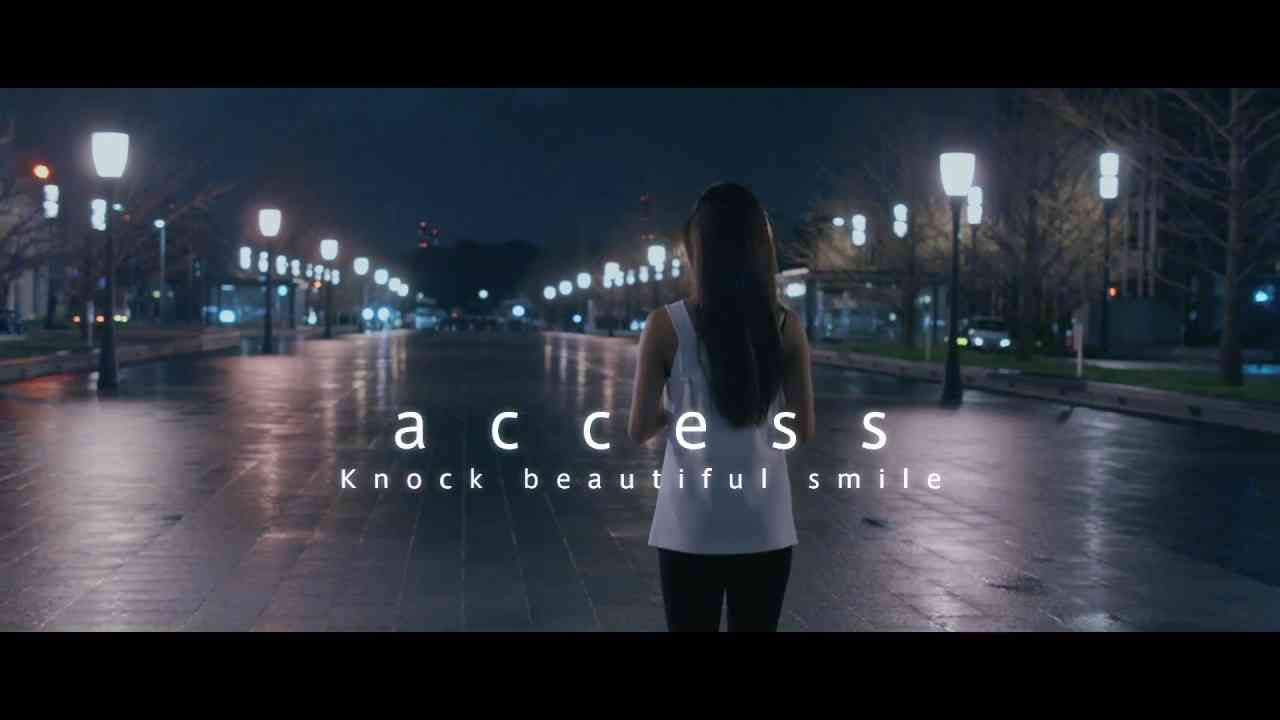 access 『Knock beautiful smile』(Promotion Edit) - YouTube
