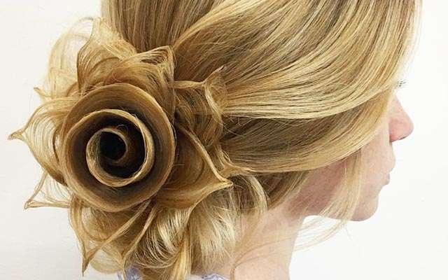 髪なのに何て美しい! ヘアアーティストの妙技に圧倒されてしまう人、続出    grape [グレイプ]