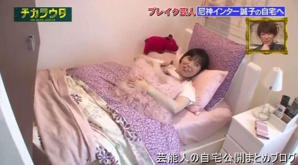 【女芸人の自宅】尼神インター 誠子さんの女らしさ満載の自宅【画像あり】